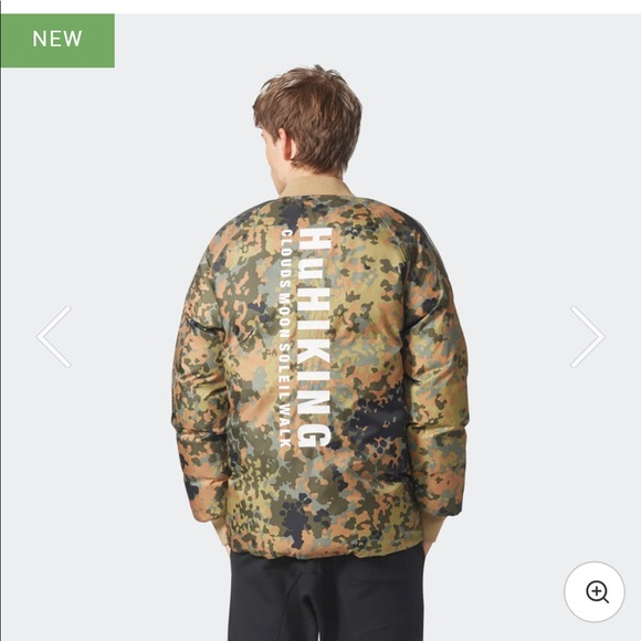 545144abb PHARRELL WILLIAMS HU HIKING CAMO SST JACKET. Boutique. adidas