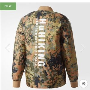 333cc30a4eac4 adidas Jackets & Coats | Pharrell Williams Hu Hiking Camo Sst Jacket ...