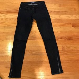 Women's skinny jeans size 26 - rugby brand
