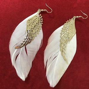 Jewelry - Feather wings earrings
