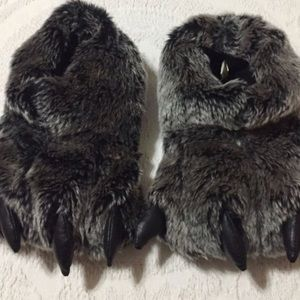 Other - Bear Claw Slippers
