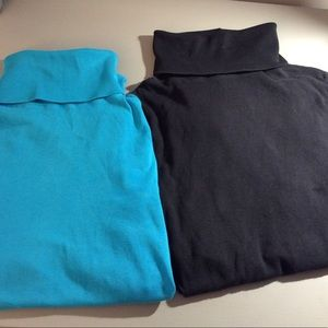 Michael Stars long sleeve turtleneck - 2 colors!