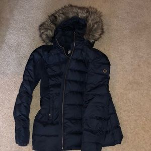 Michael Kors down feather coat