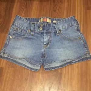 Old navy ultra low waist jean shorts