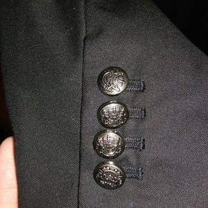 Forever 21 black blazer size Large