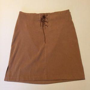 Studio Y tan skirt