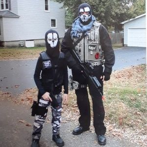 GHOSTS Full face skull mask winter balaclava Suavo