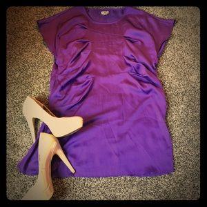 Worthington Tunic Top in Silky Purple