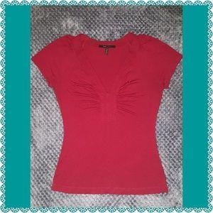 BCBG Max Azria Ladies size Small V-neck Shirt.