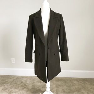 Forever 21 Green Wool Jacket