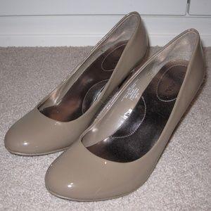 Merona Nude Round Toe Pumps Size 8.5