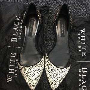 WHBM Pointed Ballet Flats