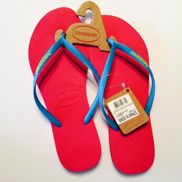 4a8eb5d7f953d NEW NWT Havaianas Flip Flops Sandals Rose 11 12