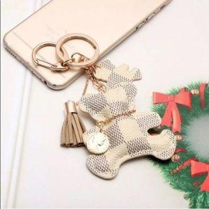 Handbags - Cute handmade leather bear for your fashion bags