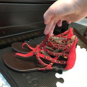 Jessica Simpson gladiator sandal