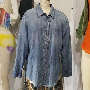 🔥🔥Sale🔥🔥 Denim Button Down Shirt