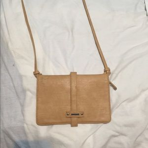 Tan Crossbody Roxy bag
