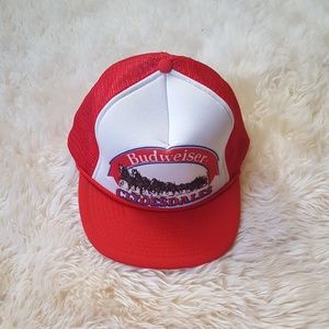 Vintage Budweiser Trucker Hat