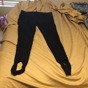 Stirrup leggings ann Taylor black