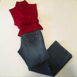🆕List! BCBGMaxAzria Bootcut Jeans