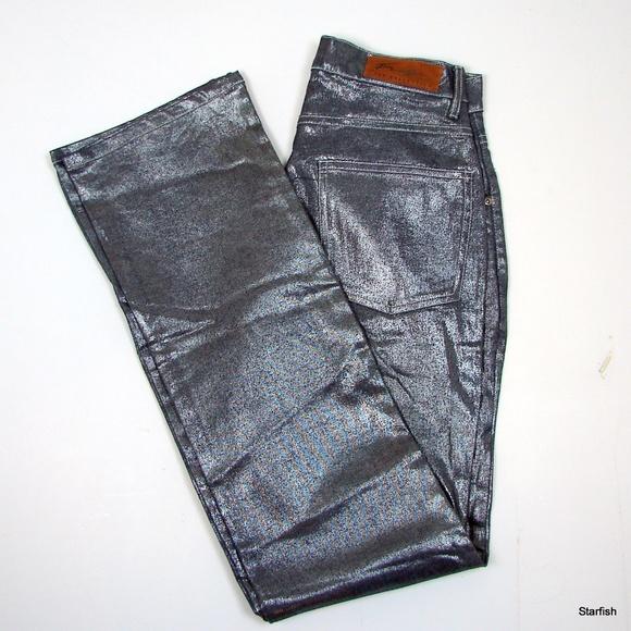 94a1bc82 Fubu Denim - FUBU The Collection metallic jeans 7/8