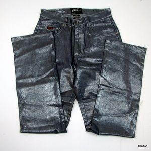 2fabac55 Fubu Jeans - FUBU The Collection metallic jeans 7/8