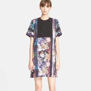 Clover Canyon 'Floral Filter' Print Sheath Dress