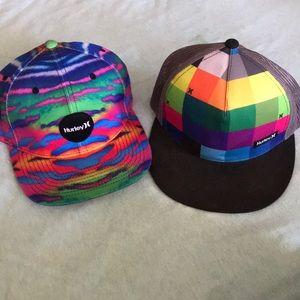 Two Hurley SnapBack hats - awesome deal!!