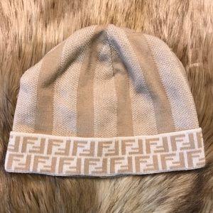 Adorable Authentic Fendi Beanie Hat