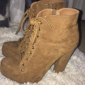 Size 6.5 Charlotte Russe booties