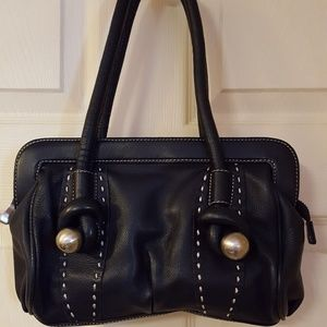 BCBGMaxAzaria Leather Shoulder Bag