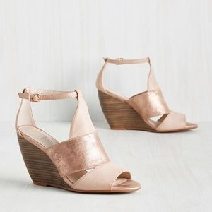 ModCloth hit the ground stunning wedges