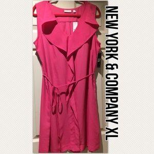 XL NWT PRETTY IN PINK RUFFLED DRESS 💝