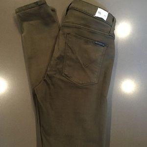 Hudson 'Spark' Super Skinny jean in Olive