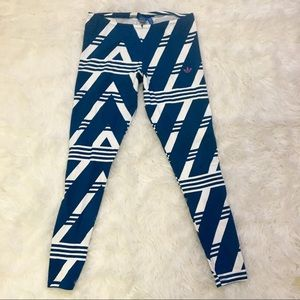 RARE ADIDAS LARGE LEGGINGS PRINTED