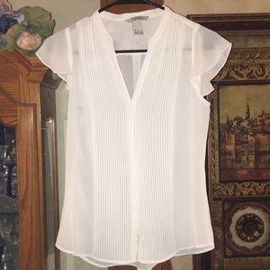 NWOT H&M short sleeve blouse