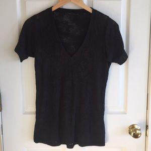 BCBG V neck T shirt