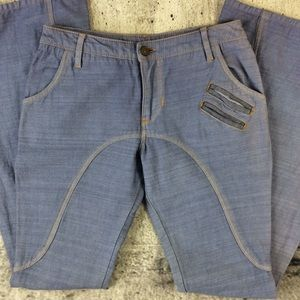 Diego Milano extra flare bellbottom jeans