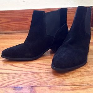 ASOS  Suede Ankle Boots - Size 8