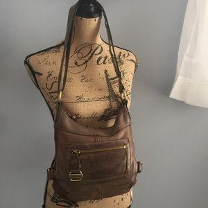 Tignanello 👜leather dual strap shoulder bag