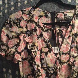 reformation huntington dress size 4 in china rose