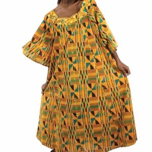 AFRICAN DASHIKI PRINT DRESS