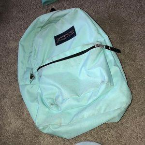 Mint Jansport backpack