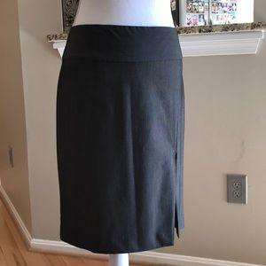 Express dark grey dress skirt.
