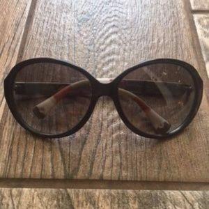 Coach Alicia Black Sunglasses