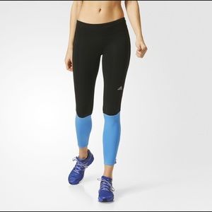 Adidas Response Long Tights Ray Blue