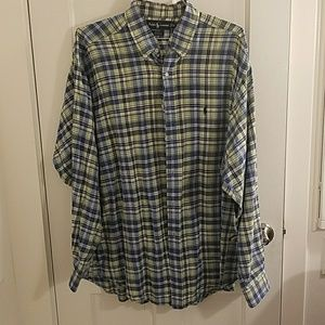 Ralph Lauren Blake Button Down - Plaid - XL