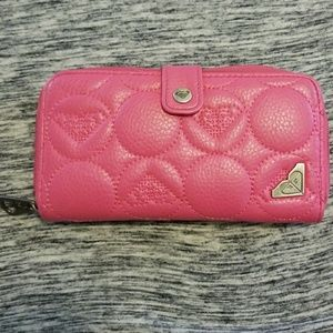 Roxy leather wallet