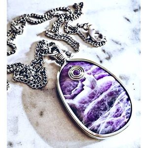Lilac Amethyst Necklace