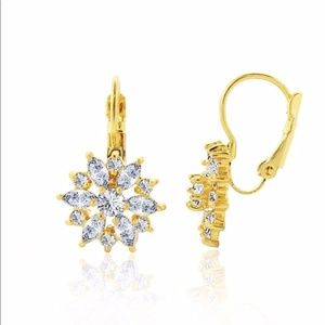 Kate Spade 'Starburst' Crystal Drop Earrings